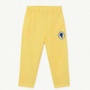 The Animals Observatory  - ELEPHANT KIDS TROUSERS YELLOW TREE - Clothing