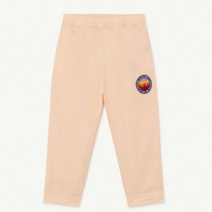 The Animals Observatory  - ELEPHANT KIDS TROUSERS PINK MOLTO - Clothing