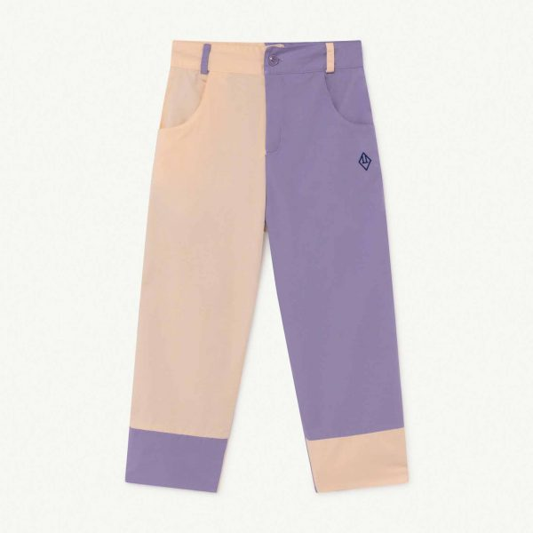 The Animals Observatory  - COLT KIDS TROUSERS BICOLOR LOGO - Clothing