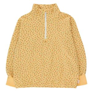 Tinycottons  - SMALL FLOWERS MOCKNECK SWEATSHIRT - Clothing