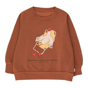 Tinycottons  - BIRD SWEATSHIRT - Clothing
