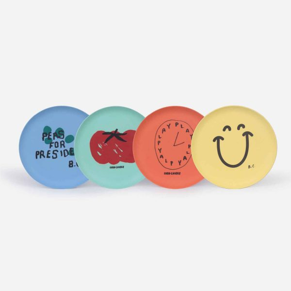 Bobo Choses  - FOR PRESIDENT PACK OF PLATES - Homeware