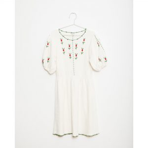 Fish & Kids  - FLOWERS KNITTED DRESS - Clothing