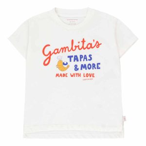 Tinycottons  - GAMBITA'S GRAPHIC TEE - Clothing
