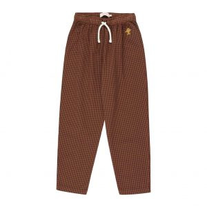 Tinycottons  - CHECK PANT - Clothing