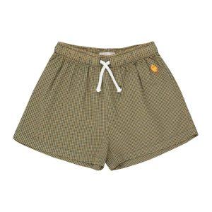 Tinycottons  - CHECK SHORT SAND - Clothing