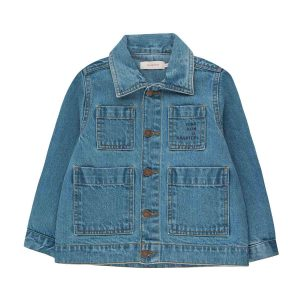 Tinycottons  - WISHING TABLE DENIM JACKET - Clothing