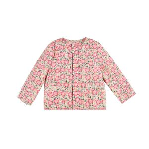 Louise Misha  - JACKET SOLUTA PINK MEADOW - Clothing