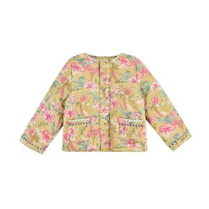 Louise Misha  - JACKET SOLUTA SOFT HONEY PARROTS - Clothing