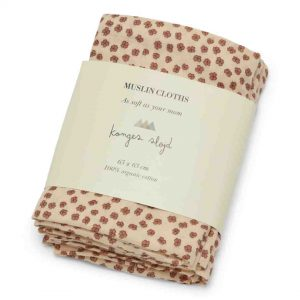 Konges Sløjd  - 3 PACK MUSLIN CLOTH BUTTERCUP ROSA - Homeware