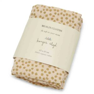 Konges Sløjd  - 3 PACK MUSLIN CLOTH BUTTERCUP YELLOW - Homeware