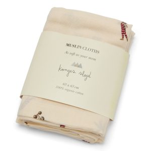 Konges Sløjd  - 3 PACK MUSLIN CLOTH STRONG MAN - Homeware