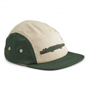 Liewood  - RORY CAP CROCODILE GARDEN GREEN MIX - Accessories