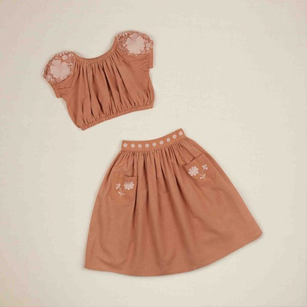 Apolina Kids  - VELMA SET PRALINE - Clothing