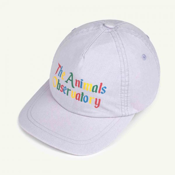 The Animals Observatory  - HAMSTER KIDS CAP SOFT PURPLE THE ANIMALS - Accessories