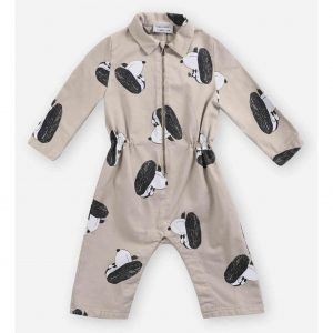 Bobo Choses  - Doggie All Over woven overall - Clothing