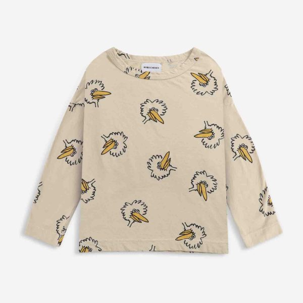 Bobo Choses  - Birdie All Over long sleeve T-shirt - Clothing