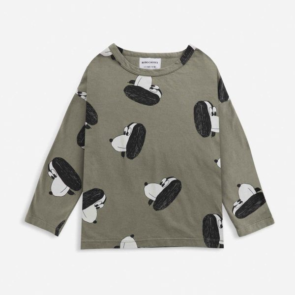 Bobo Choses  - Doggie All Over long sleeve T-shirt - Clothing