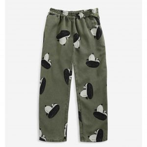 Bobo Choses  - Doggie All Over woven pants - Clothing