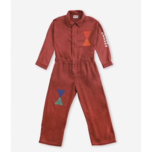 Bobo Choses  - Geometric woven overall - Clothing