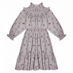 The New Society  - DONNA DRESS FLOWER - Clothing