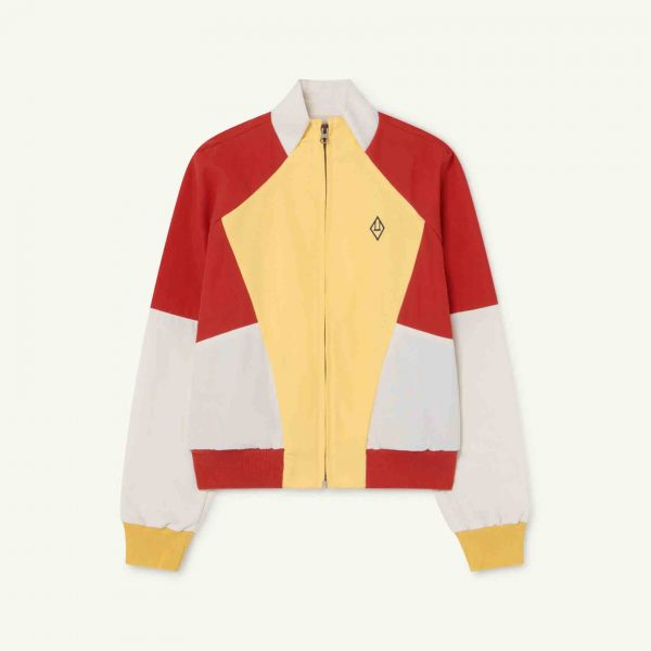 The Animals Observatory  - FOX KIDS JACKET RED LOGO - Clothing