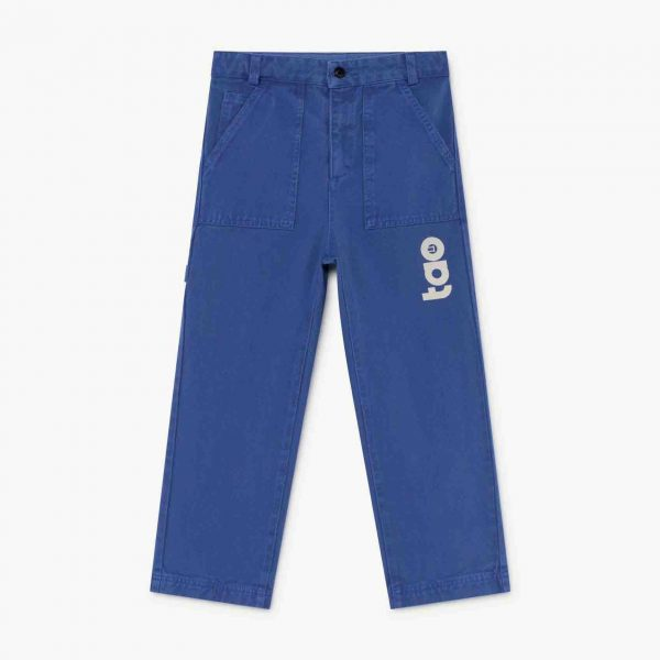 The Animals Observatory  - CONDOR KIDS TROUSERS BLUE TAO - Clothing