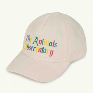 The Animals Observatory  - HAMSTER KIDS CAP WHITE THE ANIMALS - Accessories