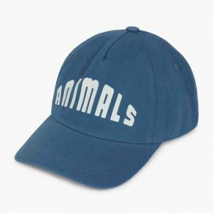 The Animals Observatory  - HAMSTER KIDS CAP BLUE ANIMALS - Accessories
