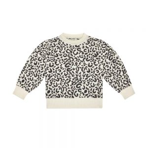 The New Society  - ROSE JUMPER LEOPARD - Clothing