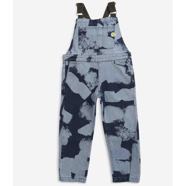 Bobo Choses  - Painting All Over denim dungaree - Clothing