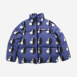 Bobo Choses  - Doggie All Ove Recycled Padded jacket - Clothing