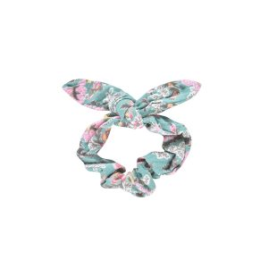 Louise Misha  - Scrunchie Chloe Blue French Flowers - Accessories