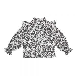 The New Society  - GANNIN BLOUSE LEOPARD - Clothing