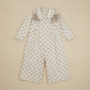 Apolina  - DAHLIA JUMPSUITS SNOWDROP CALICO FLORAL - Clothing