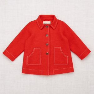 Misha & Puff  - Playhouse Coat Red Flame - Clothing
